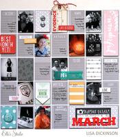snapshots of march   elle's studio
