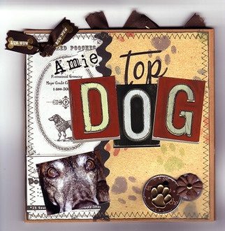 Top Dog Accordion Book