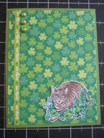 Celtic Kitty Card