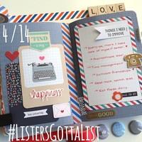 #ListersGottaList - April 14th