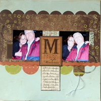 M is for Memories