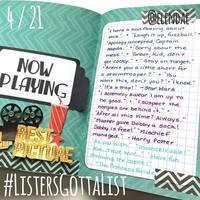 #ListersGottaList - April 21st