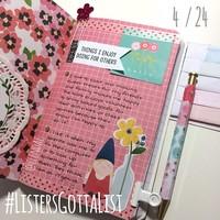 #ListersGottaList - April 24th