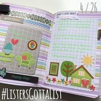 #ListersGottaList - April 26th
