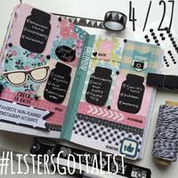 #ListersGottaList - April 27th