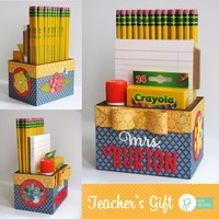 Pebbles Inc. HomeGrown Teacher's Gift Box by Mendi Yoshikawa