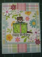 3:00 FastScrap Ferret Birthday Card