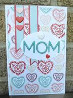 Mom heart card
