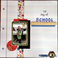 1st day of School (May 2015 NSD Ann's Tradition Challenge)