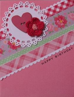 Birthday card: May card challenge