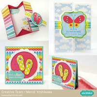 Echo Park I Love Sunshine Card Set by Mendi Yoshikawa