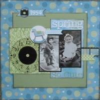 Spring 1954 - So cute (Ben and Bonnie)