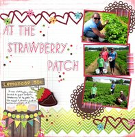 At the Strawberry Patch