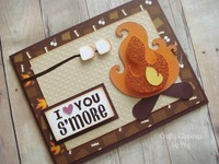 I love you smore card
