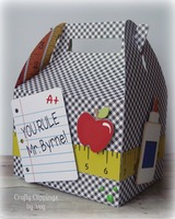 Teacher Appreciation Gable Box