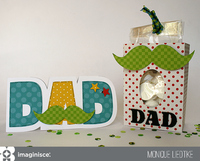 Father's Day Card and Treat Bag