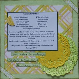 Lemony Lentil-Barley Salad