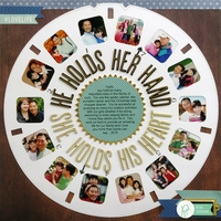 Pebbles Viewmaster Father's Day Layout by Mendi Yoshikawa