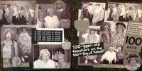 100 year old teachers black & white