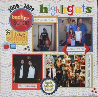Back to School highlights 4th grade