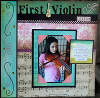 First Violin Lesson (page 1)