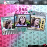 Sea Blow Hair