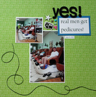 yes! real men get pedicures!