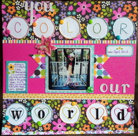 You Color Our World