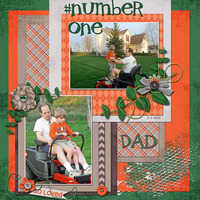 Number One Dad….So Loved