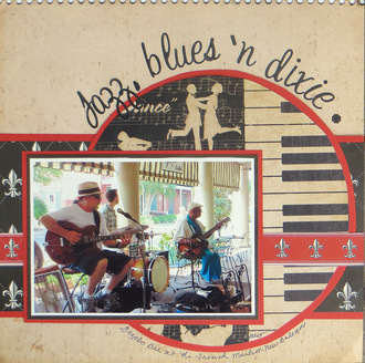 Jazz, blues 'n Dixie