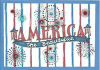 America The Beautiful *July Card Challenge*