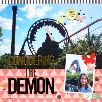 Conquering the Demon *Pebbles*