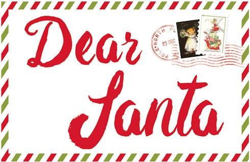 Dear Santa Bo Bunny