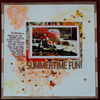 Summertime Fun *August Rewind Challenge*