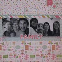 Birthday Celebration: Family