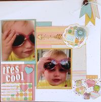tres cool (Aug. 2015 Mood Board and Guest Designer #4 Challenges)