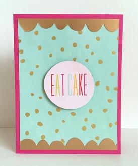 Eat Cake Gold Card