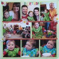 Emery's Birthday Collage