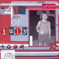 **DT Foam Stamps** Reveal - Fourth of July
