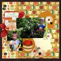 Family Traditions Apple Pickin