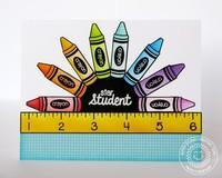 Sunny Studio School Time Card by Mendi Yoshikawa