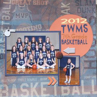 2012 TWMS 7th grade basketball