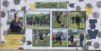 Soccer it's a kick