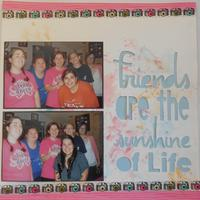 Friends are the Sunshine of Life