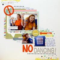 No Dancing!