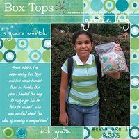 Box Tops Goodie Bag