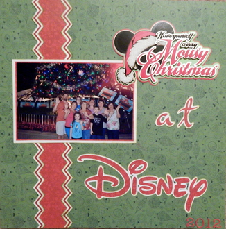 Christmas in WDW