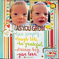 As You Grow - October Guest Designer