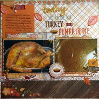 Turkey and Pumpkin Pie