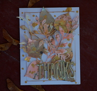 Thanks- Fall Card